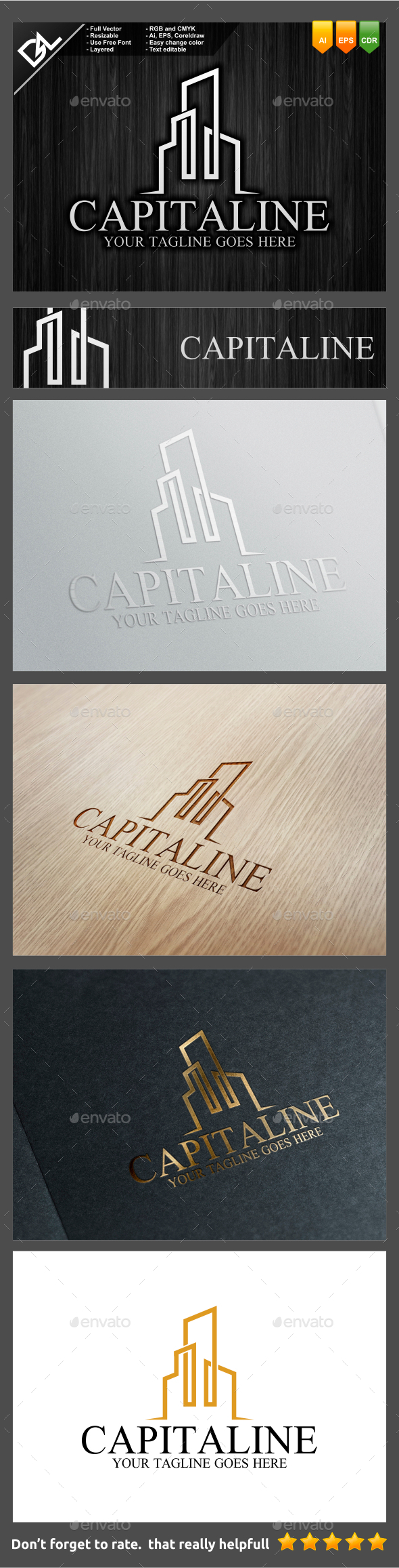 GraphicRiver Capitaline 9443442