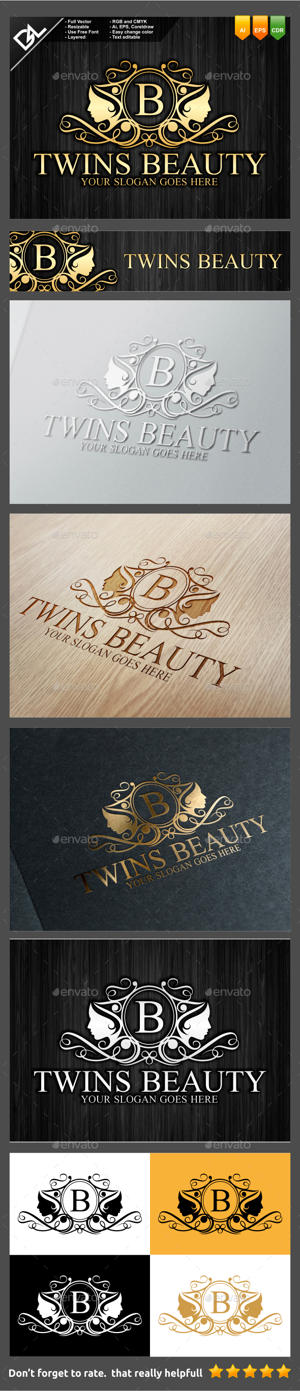 GraphicRiver Twins Beauty 9443566