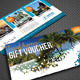 Travel Agency Gift Voucher - GraphicRiver Item for Sale