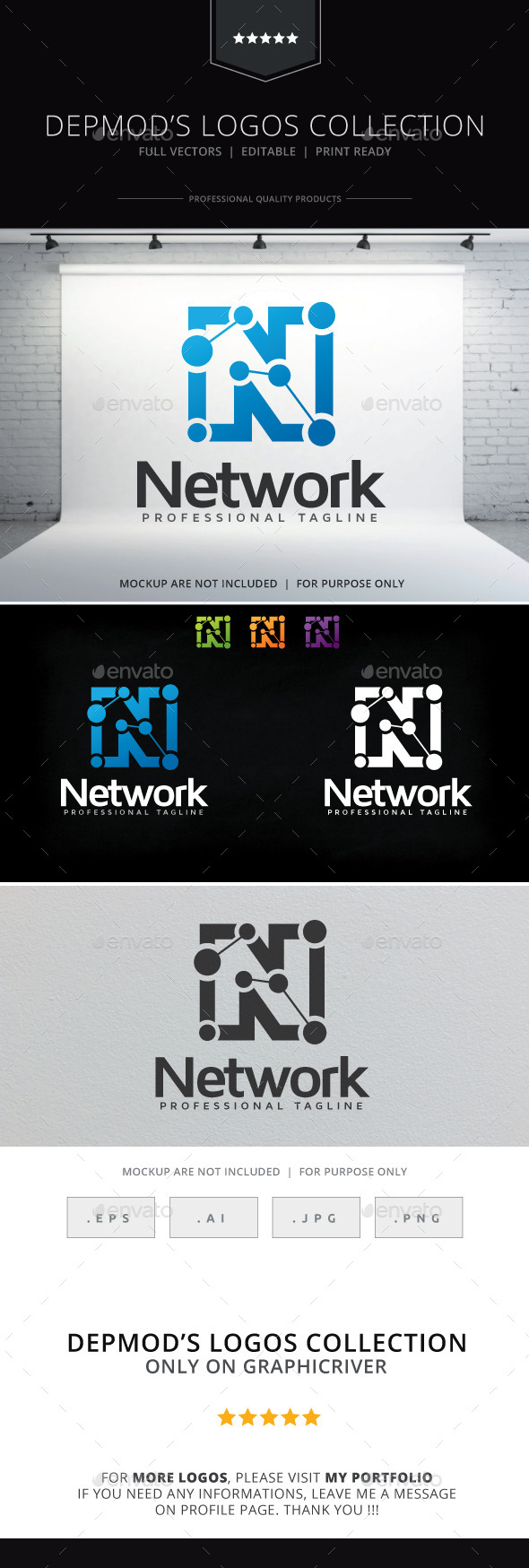 GraphicRiver Network Logo 9443805