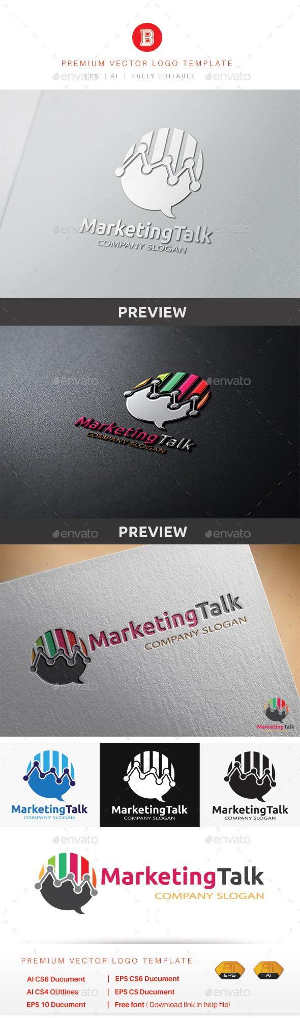 GraphicRiver Marketing Talk 9444050
