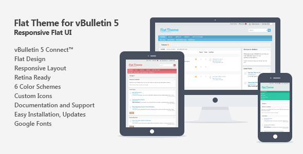 Flat Theme for vBulletin 5 Connect - vBulletin Forums