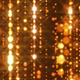 Fly Through Sparkling Golden Particles - VideoHive Item for Sale