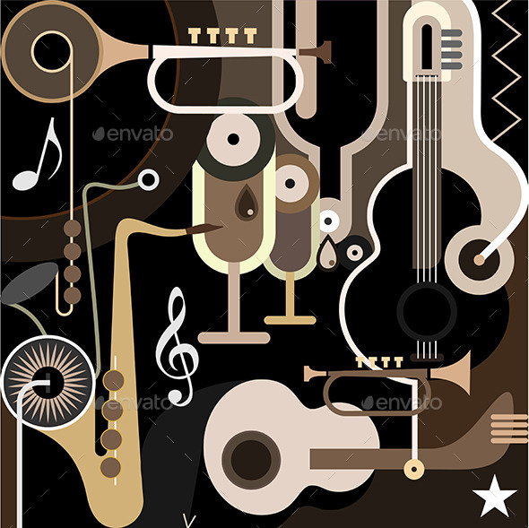 GraphicRiver Music Background 9445420