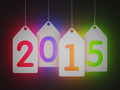 White tags with 2015 - PhotoDune Item for Sale