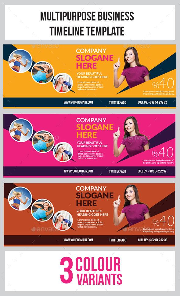 GraphicRiver Ivato Timeline Template 9445776