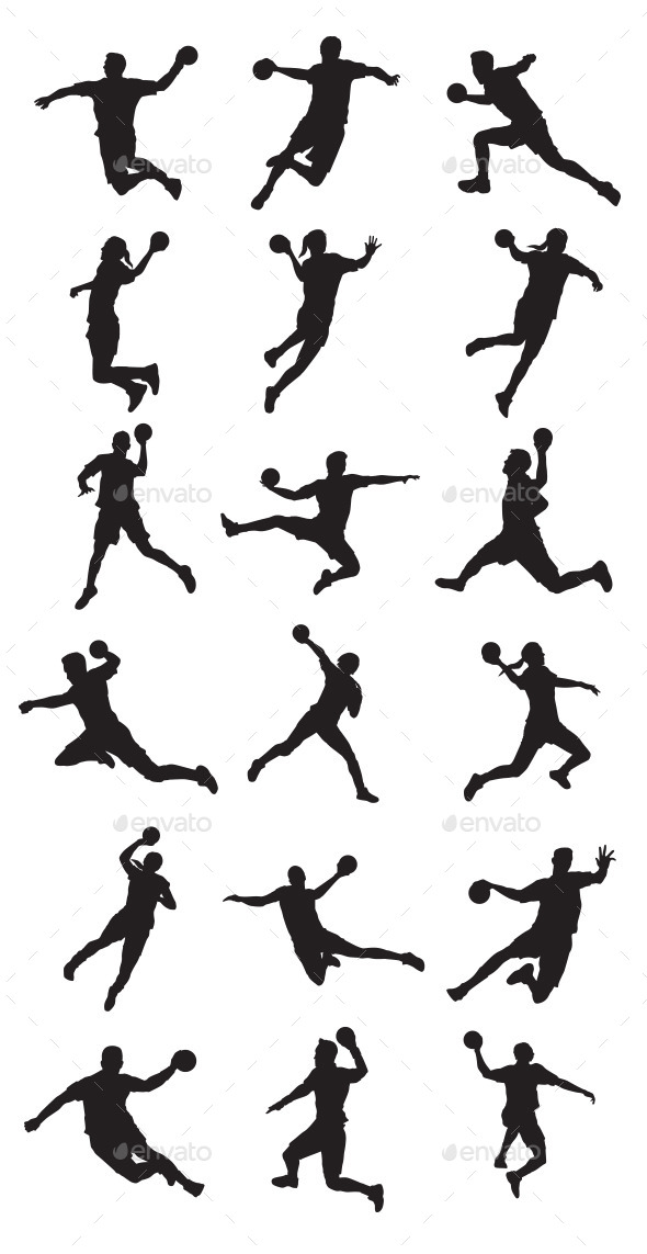 GraphicRiver Handball Player 9445835