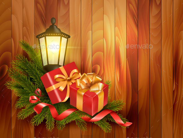 GraphicRiver Christmas Background 9445870