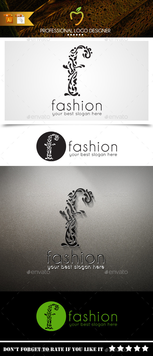 GraphicRiver Fashion Logo 9445897