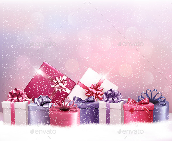 GraphicRiver Christmas Background 9445903