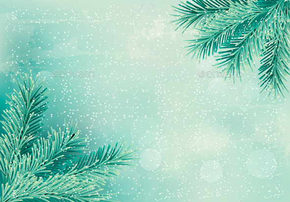 GraphicRiver Christmas Background 9445909