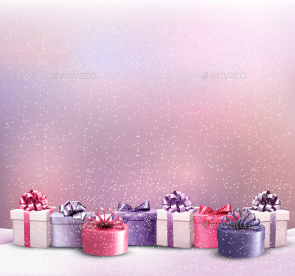 GraphicRiver Holiday Christmas Background 9445935