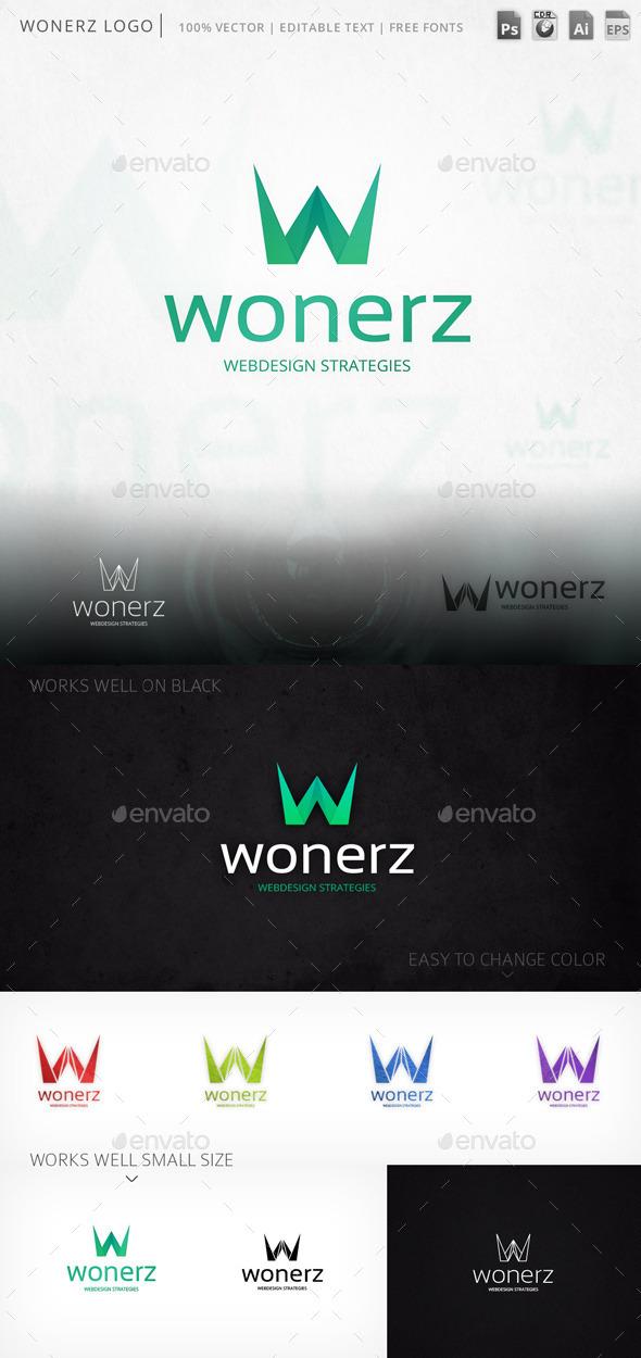 GraphicRiver Wonerz Logo 9445958