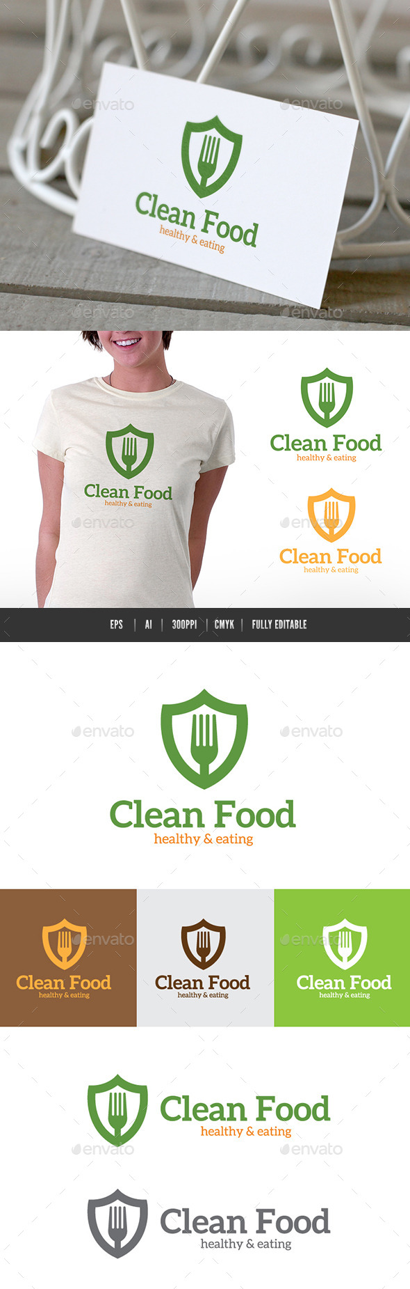 GraphicRiver Clean Food 9446366