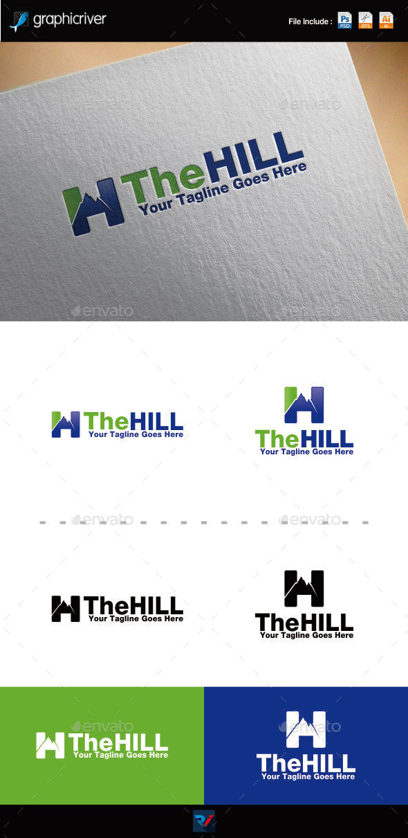 GraphicRiver The Hill Logo 9447232