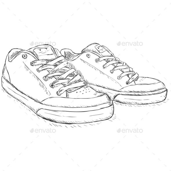 Sketch Skaters Shoes