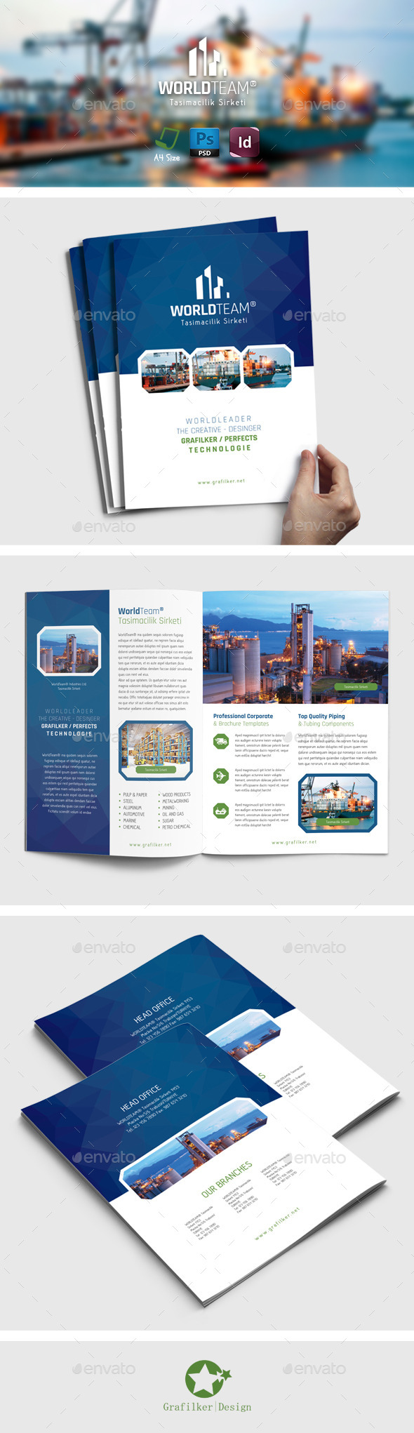 International Brochure Templates