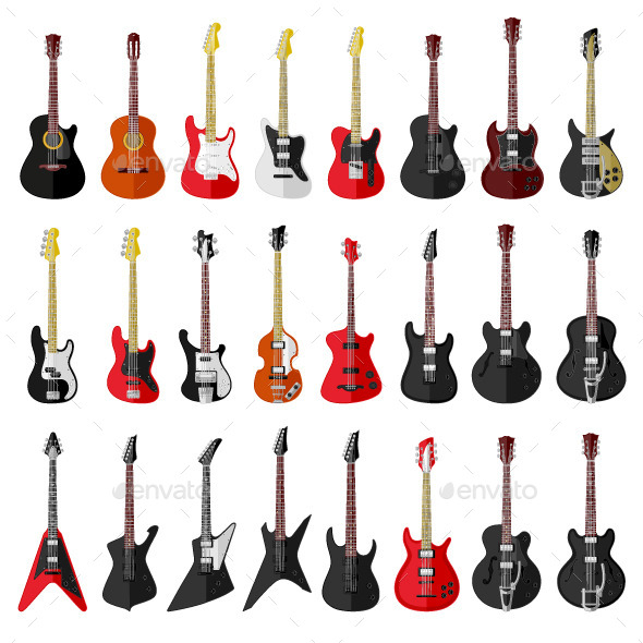 GraphicRiver Guitars 9447784