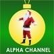 Santa Claus Shouts Toward - VideoHive Item for Sale