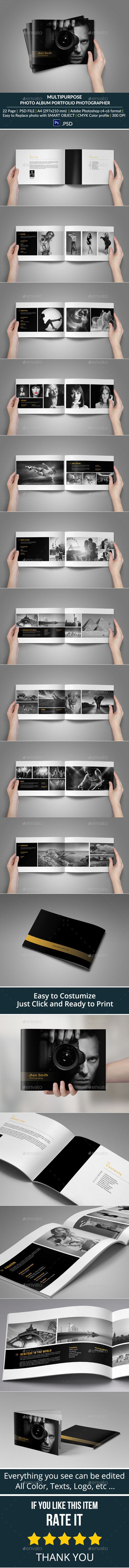 GraphicRiver Portfolio Photographer 9448257