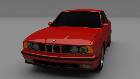 5 Series BMW E34 - 3DOcean Item for Sale