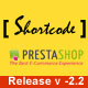 Prestashop Short Code - CodeCanyon Item for Sale