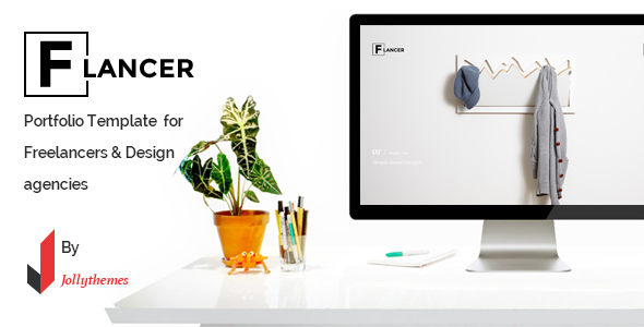 ThemeForest Flancer Portfolio Template for Freelancers & Agencies 9448820
