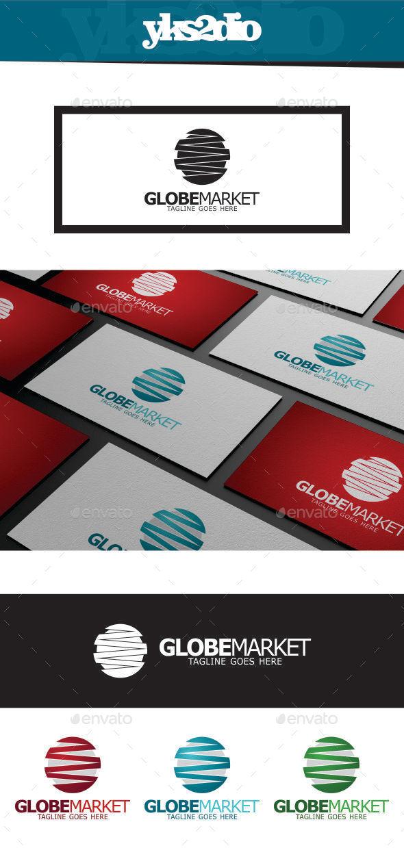 GraphicRiver Global Marketing Logo 9449037