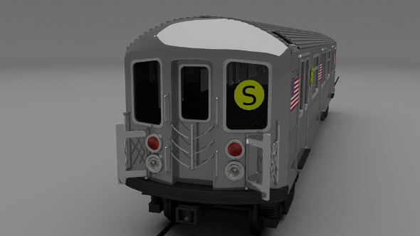New York subway train - 3DOcean Item for Sale