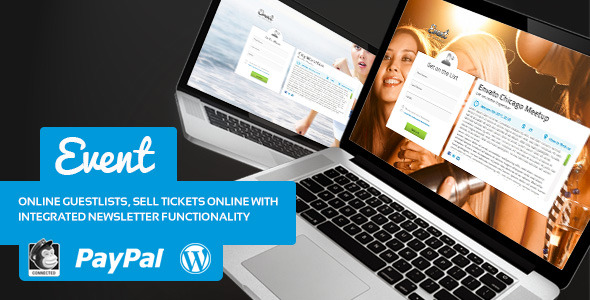Event Guest List WordPress Theme