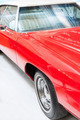 Close Up Detail of Shiny Red Classic Car. - PhotoDune Item for Sale