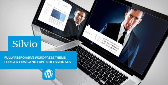 Silvio - Lawyer & Business WordPress Theme
