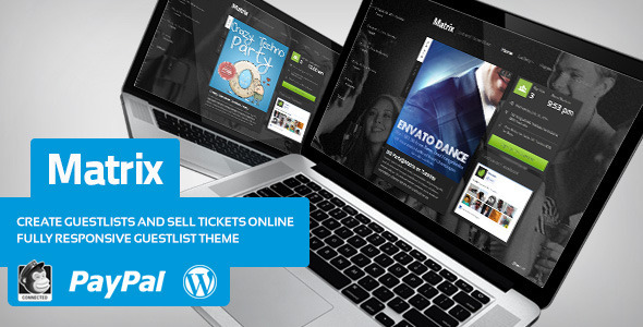 Matrix Event Guest List WordPress Theme