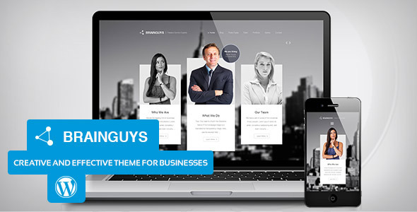 Brainguys - Creative Business Theme for WordPress - Business Corporate