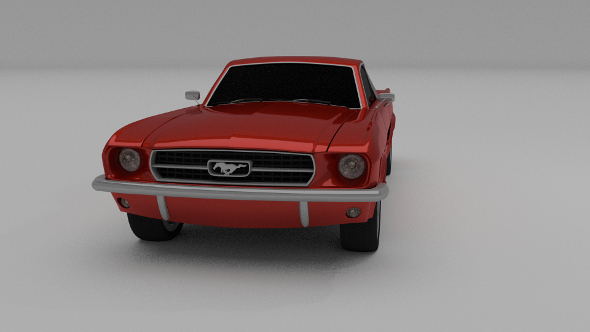 1965 Ford Mustang - 3DOcean Item for Sale