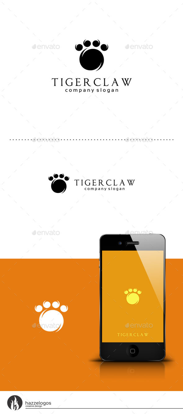 GraphicRiver Tiger Claw Logo 9449879