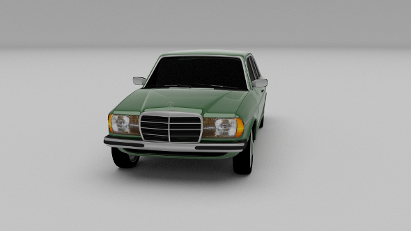 Mercedes-Benz W123 - 3DOcean Item for Sale