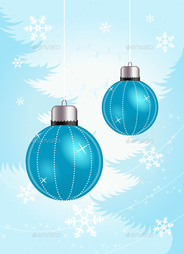 GraphicRiver Christmas Balls 9450211