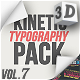 Kinetic Typography Pack - VideoHive Item for Sale