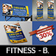 Fitness - GYM Advertising Bundle - GraphicRiver Item for Sale