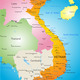 Vector color map of Vietnam - PhotoDune Item for Sale