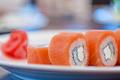Salmon roll sushi - PhotoDune Item for Sale