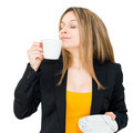 woman drinking coffee - PhotoDune Item for Sale