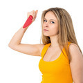 Woman with a knife - PhotoDune Item for Sale
