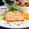 grilled salmon and lemon - PhotoDune Item for Sale