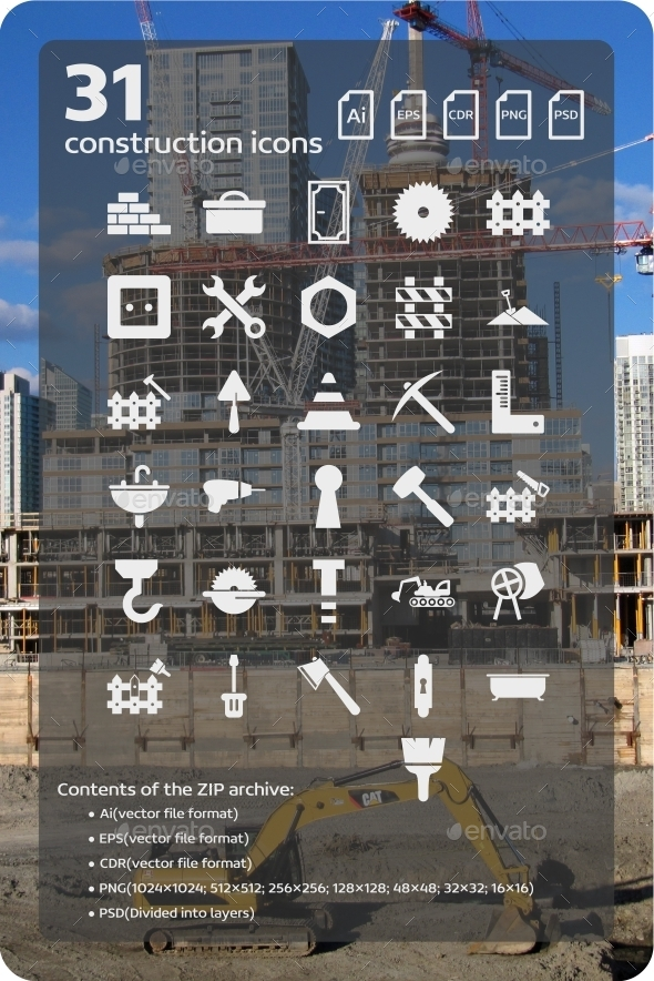 GraphicRiver 31 Construction Icons 2 9451765
