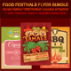 Food Festivals Flyer Bundle - GraphicRiver Item for Sale