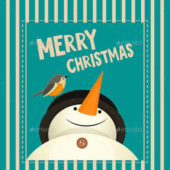 GraphicRiver Merry Christmas Greeting Card 9452054