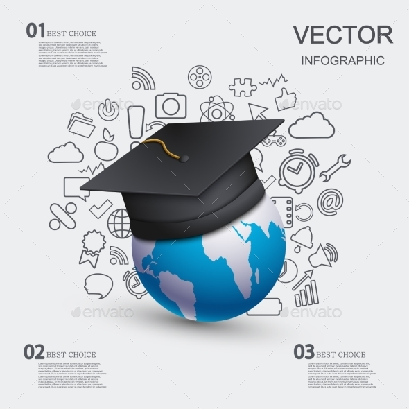 GraphicRiver Education Infographic Background 9452314