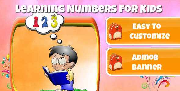 CodeCanyon Learning Numbers For Kids With AdMob 9452344